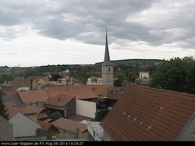 Webcam aus Arnstadt. Arnstadt live erleben